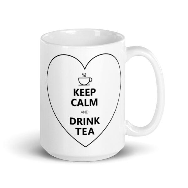 white glossy mug 15oz handle on right 60bbe6f9253de